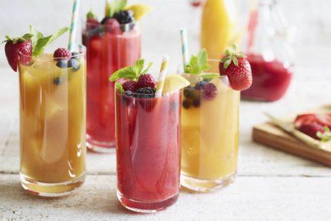 طريقة عمل مشروبات باردة صحية وطبيعية بمكونات بسيطة في كل مطبخ