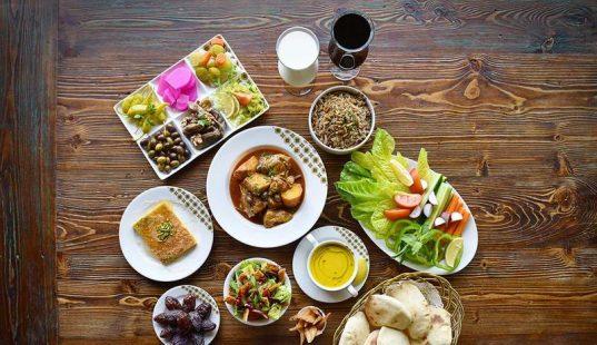 الإفطار الصحي في رمضان متنوع الأنواع